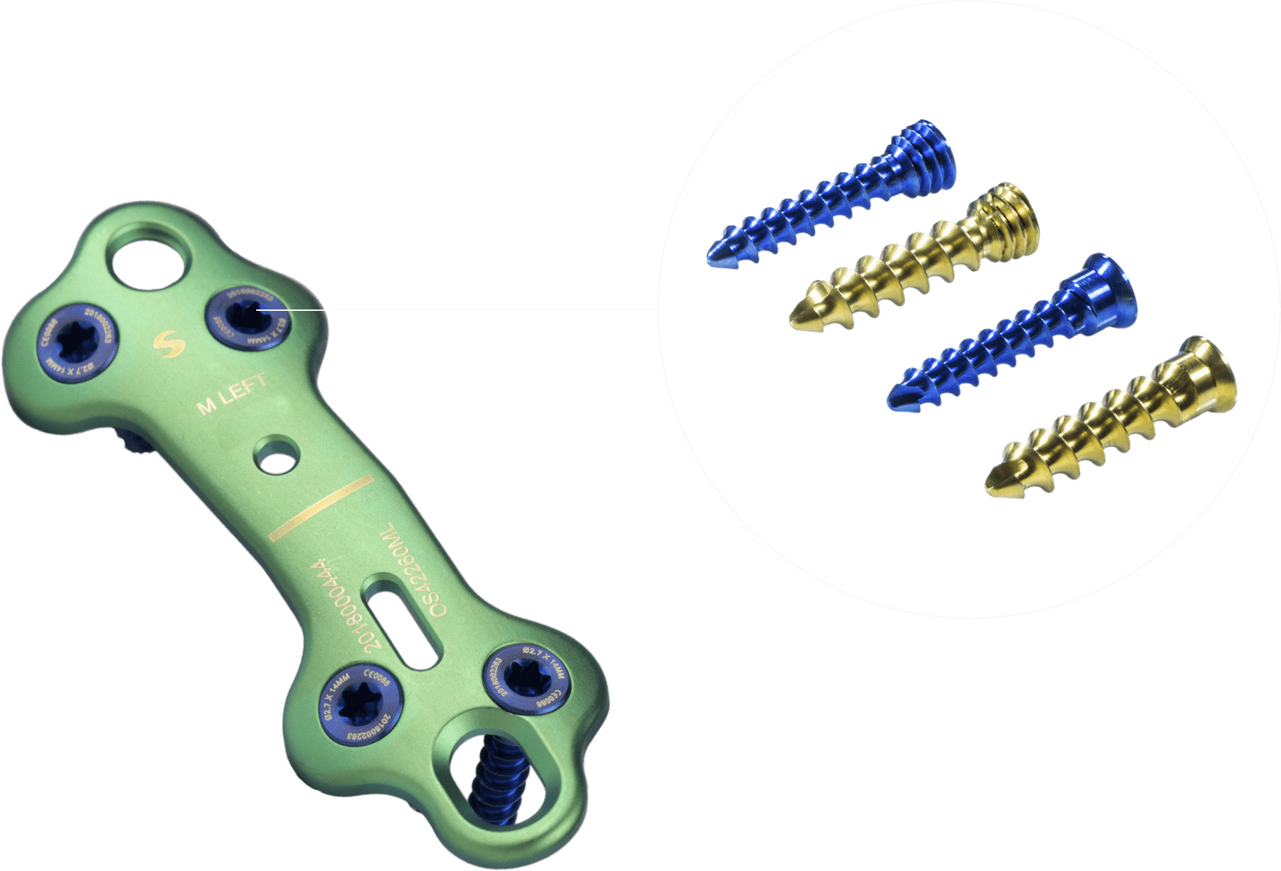 Flexible Plate and Screw Configurations